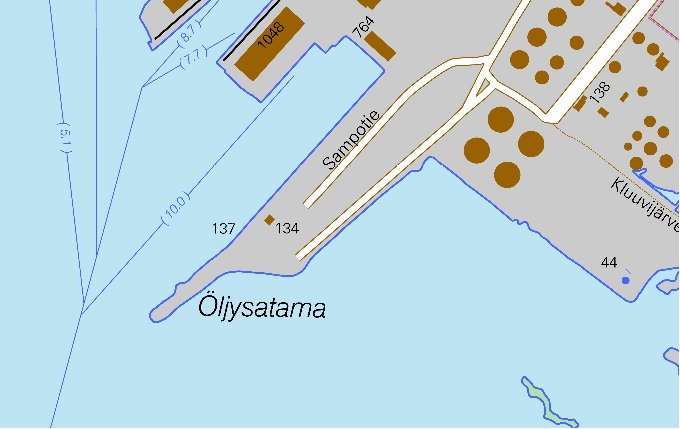 Maps Kemin Satama